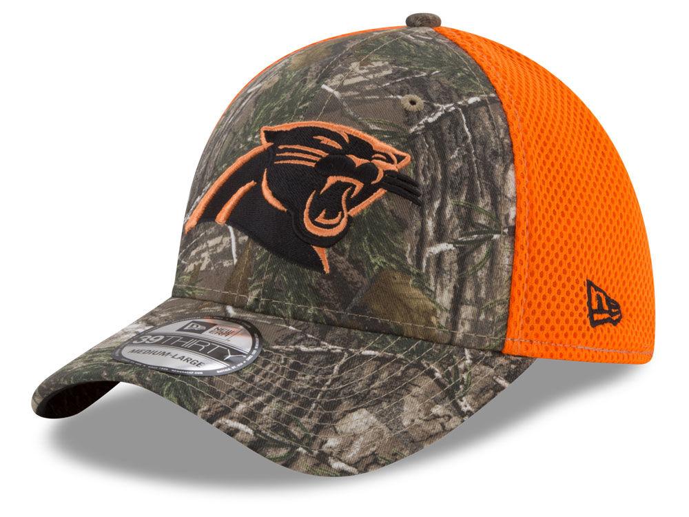 025f659d7b1 Carolina Panthers New Era NFL Realtree Hunter Neo 39THIRTY Cap ...
