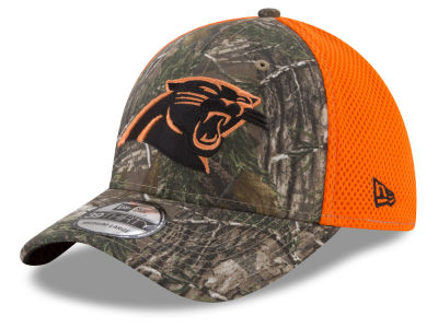 Carolina Panthers New Era NFL Realtree Hunter Neo 39THIRTY Cap