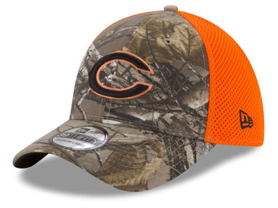 Chicago Bears New Era NFL Realtree Hunter Neo 39THIRTY Cap