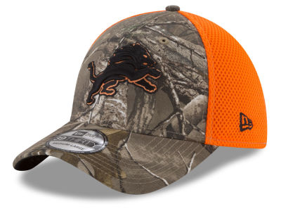 Detroit Lions New Era NFL Realtree Hunter Neo 39THIRTY Cap
