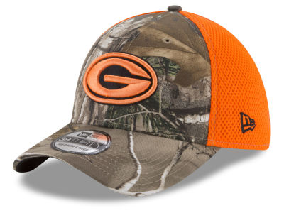 Green Bay Packers New Era NFL Realtree Hunter Neo 39THIRTY Cap