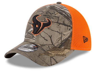 Houston Texans New Era NFL Realtree Hunter Neo 39THIRTY Cap