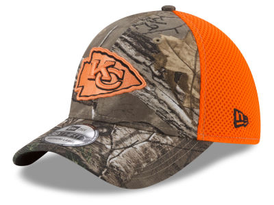 Kansas City Chiefs New Era NFL Realtree Hunter Neo 39THIRTY Cap