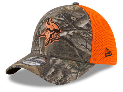 Minnesota Vikings New Era NFL Realtree Hunter Neo 39THIRTY Cap