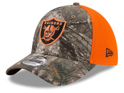 Oakland Raiders New Era NFL Realtree Hunter Neo 39THIRTY Cap
