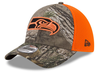 Seattle Seahawks New Era NFL Realtree Hunter Neo 39THIRTY Cap