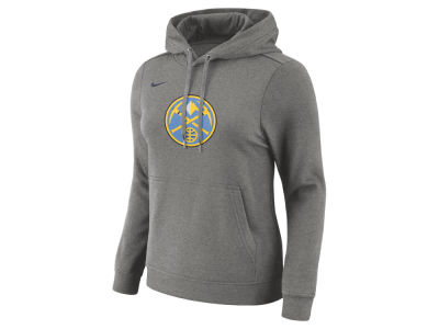 Denver Nuggets Nike NBA Women's Logo Hooded Sweatshirt