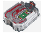 Ohio State Buckeyes Forever Collectibles 3D BRXLZ Stadium Toys & Games