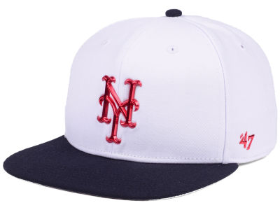 New York Mets '47 MLB Firework CAPTAIN Cap