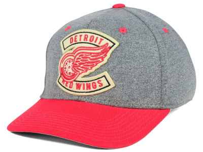 Detroit Red Wings CCM NHL Heather Patch Flex Cap