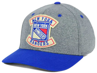 New York Rangers CCM NHL Heather Patch Flex Cap