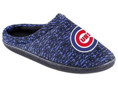 Chicago Cubs Poly Knit Cup Sole Boxed Slipper