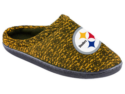 Pittsburgh Steelers Poly Knit Cup Sole Boxed Slipper