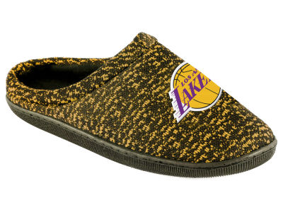Los Angeles Lakers Poly Knit Cup Sole Boxed Slipper