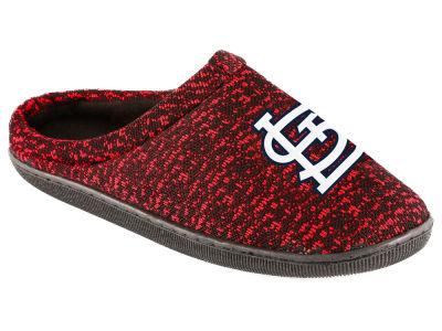 St. Louis Cardinals Poly Knit Cup Sole Boxed Slipper