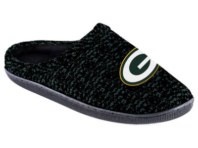 Green Bay Packers Poly Knit Cup Sole Boxed Slipper