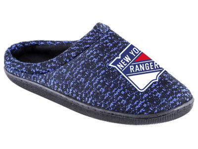 New York Rangers Poly Knit Cup Sole Boxed Slipper