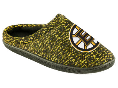Boston Bruins Poly Knit Cup Sole Boxed Slipper