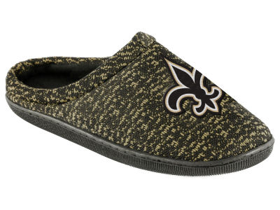 New Orleans Saints Poly Knit Cup Sole Boxed Slipper