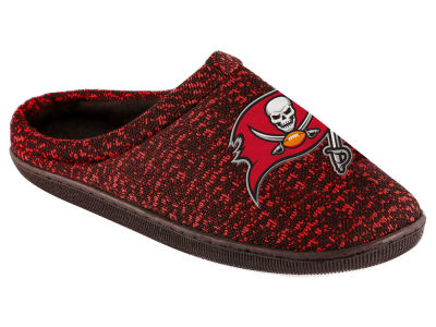 Tampa Bay Buccaneers Poly Knit Cup Sole Boxed Slipper