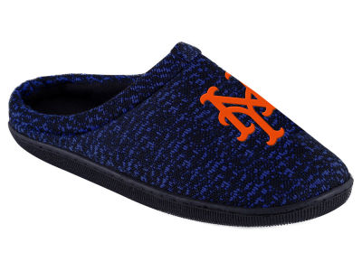 New York Mets Poly Knit Cup Sole Boxed Slipper