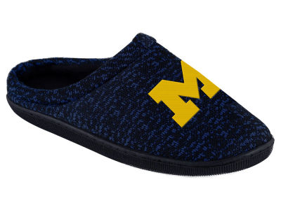 Michigan Wolverines Poly Knit Cup Sole Boxed Slipper