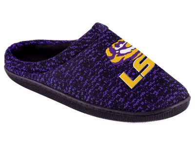 LSU Tigers Poly Knit Cup Sole Boxed Slipper