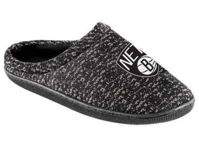 Brooklyn Nets Poly Knit Cup Sole Boxed Slipper