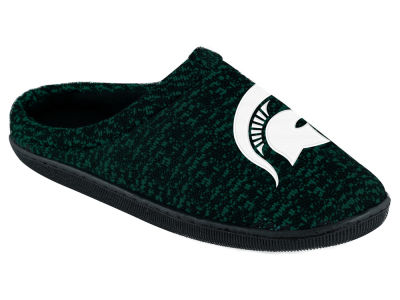 Michigan State Spartans Poly Knit Cup Sole Boxed Slipper