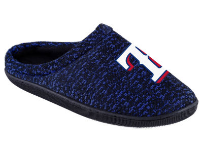 Texas Rangers Poly Knit Cup Sole Boxed Slipper