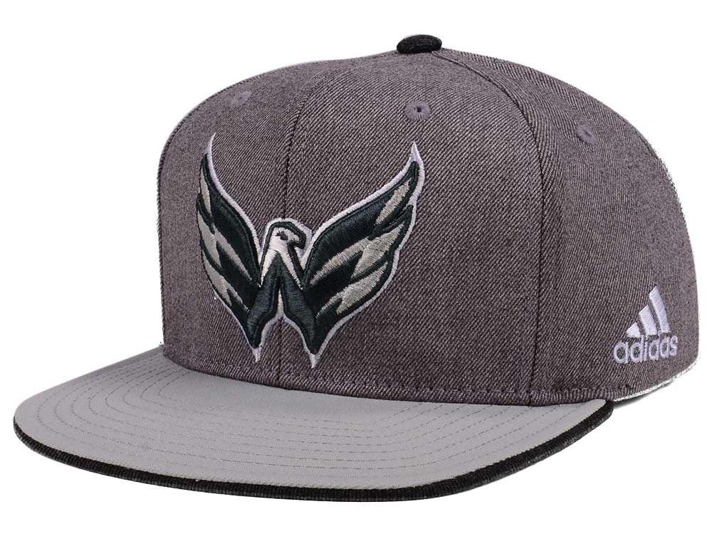 Washington Capitals adidas NHL Two Tone Snapback Cap  add21ea0f3d