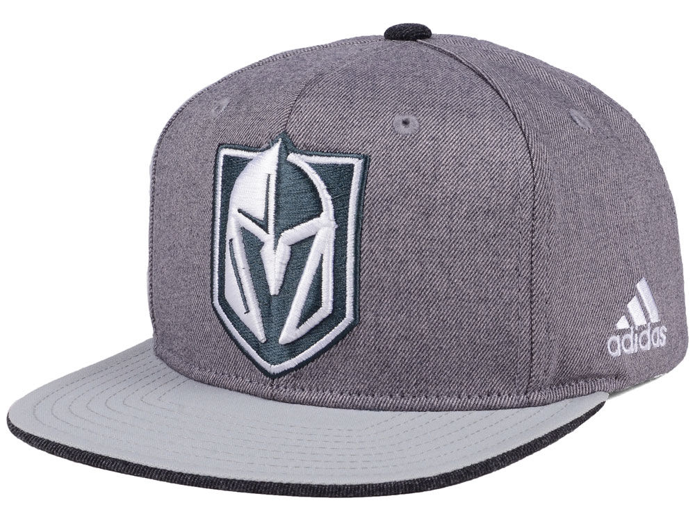 Vegas Golden Knights adidas NHL Two Tone Snapback Cap  60fc13689ee