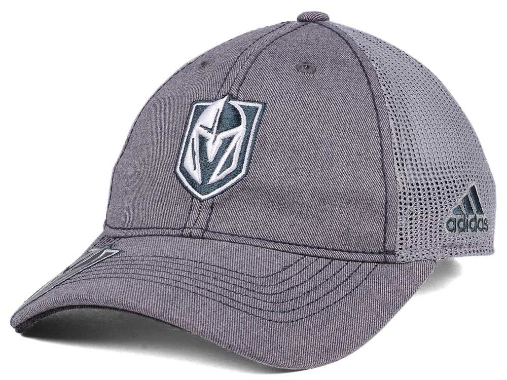 Vegas Golden Knights adidas 2017 NHL Slouch Cap  2932ae014