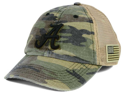 Alabama Crimson Tide Top of the World NCAA Declare Camo Cap
