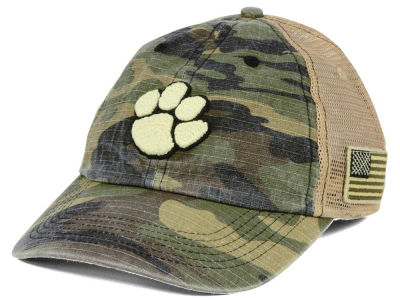 Clemson Tigers Top of the World NCAA Declare Camo Cap
