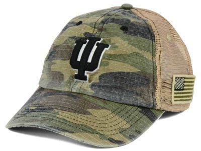 Indiana Hoosiers Top of the World NCAA Declare Camo Cap