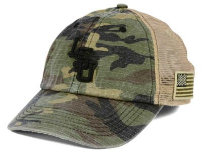 LSU Tigers Top of the World NCAA Declare Camo Cap
