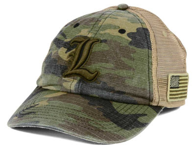 Louisville Cardinals Top of the World NCAA Declare Camo Cap
