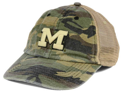 Michigan Wolverines Top of the World NCAA Declare Camo Cap