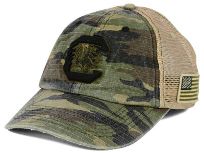 South Carolina Gamecocks Top of the World NCAA Declare Camo Cap