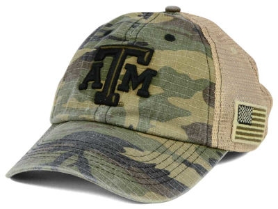 Texas A&M Aggies Top of the World NCAA Declare Camo Cap