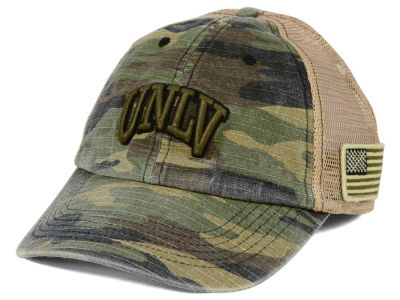 UNLV Runnin Rebels Top of the World NCAA Declare Camo Cap