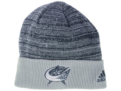 Columbus Blue Jackets adidas 2017 NHL Two Tone Knit