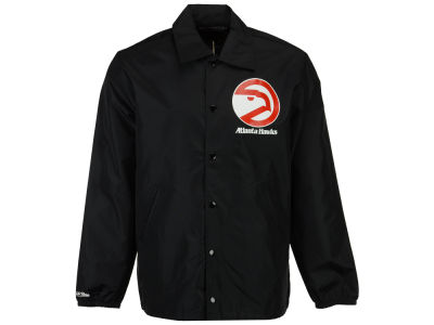 Atlanta Hawks Mitchell & Ness NBA Men's Coaches Jacket