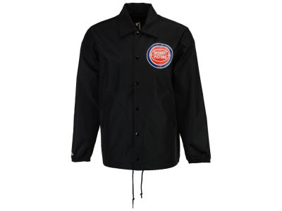 Detroit Pistons Mitchell & Ness NBA Men's Coaches Jacket