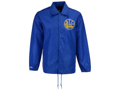 Golden State Warriors Mitchell & Ness NBA Men's Coaches Jacket