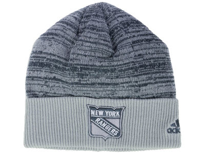 New York Rangers adidas 2017 NHL Two Tone Knit