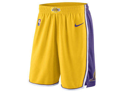 Los Angeles Lakers Nike NBA Men's Icon Swingman Short