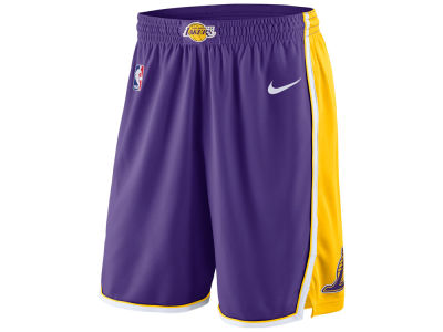 Los Angeles Lakers Nike NBA Men's Statement Swingman Shorts