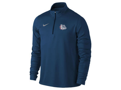 Gonzaga Bulldogs Nike NCAA Men's Element 1/4 Zip Pullover